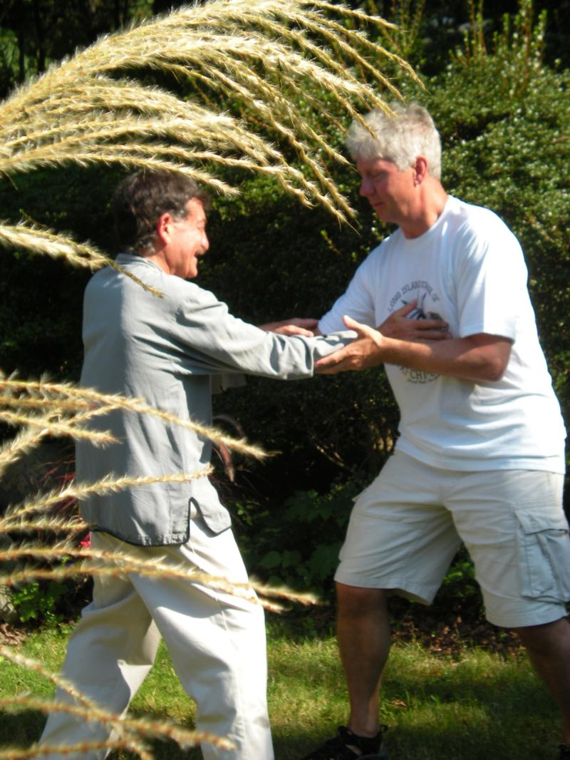 Tai-chi Push Hands Exercise